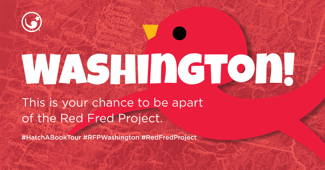 #RFPWashington - 1-27 May 2019—The Hatch-a-Book Tour continues as Dallas works with WA RFP Storyteller, JJ Lilley!