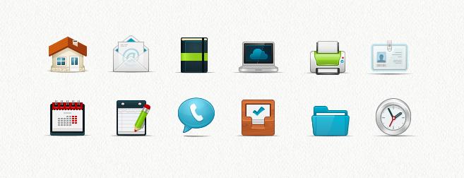 Internet & Computer Icon Set
