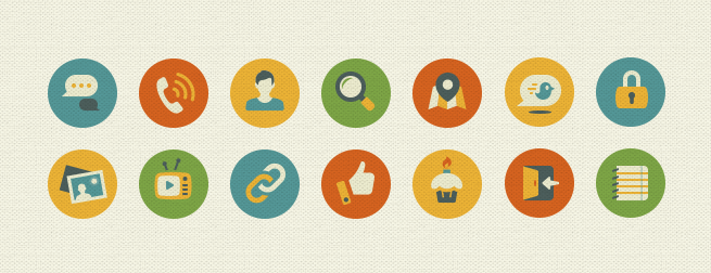 Social Networking Icon Set