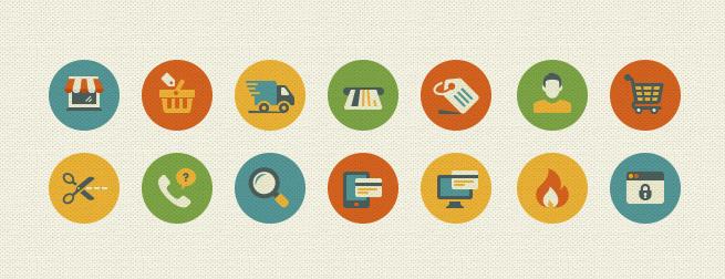 E-Commerce & Shopping Icon Set