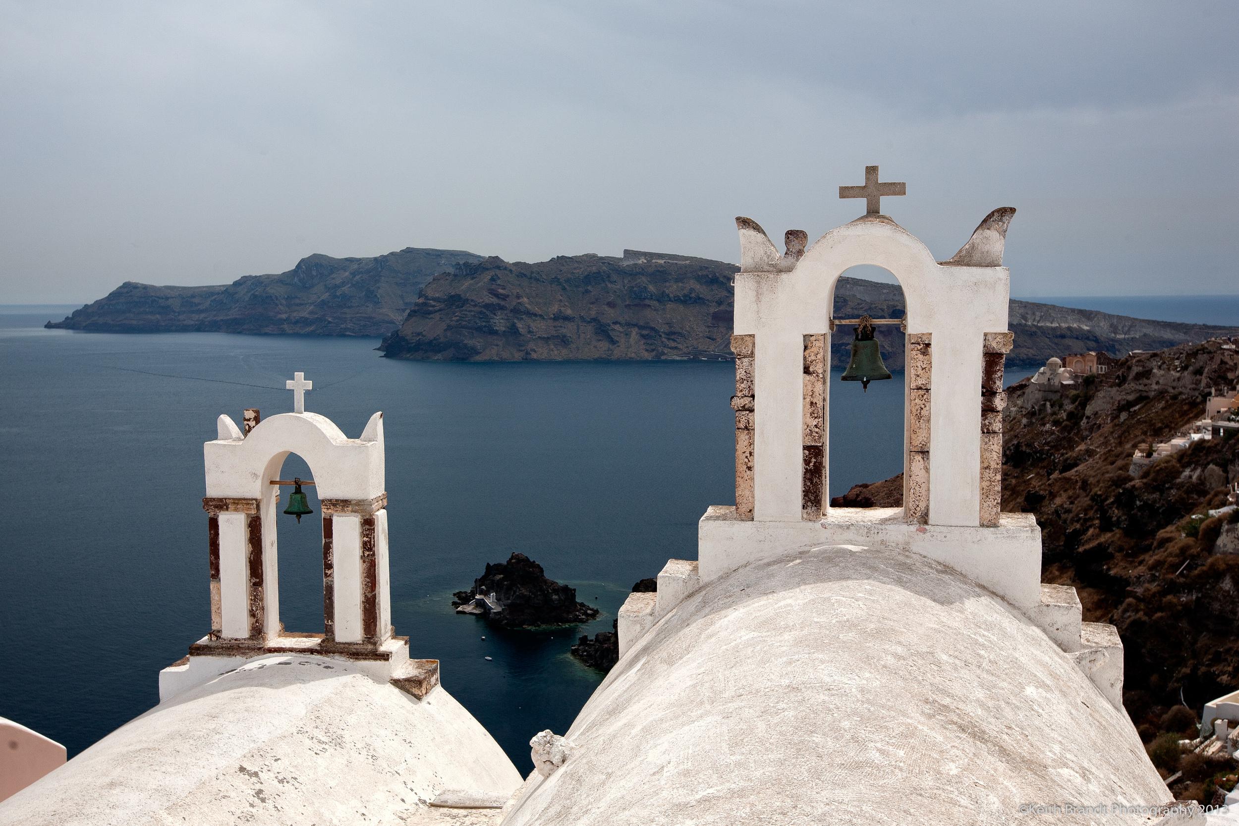 Ia Church Bells, Santorini, Greece.jpg