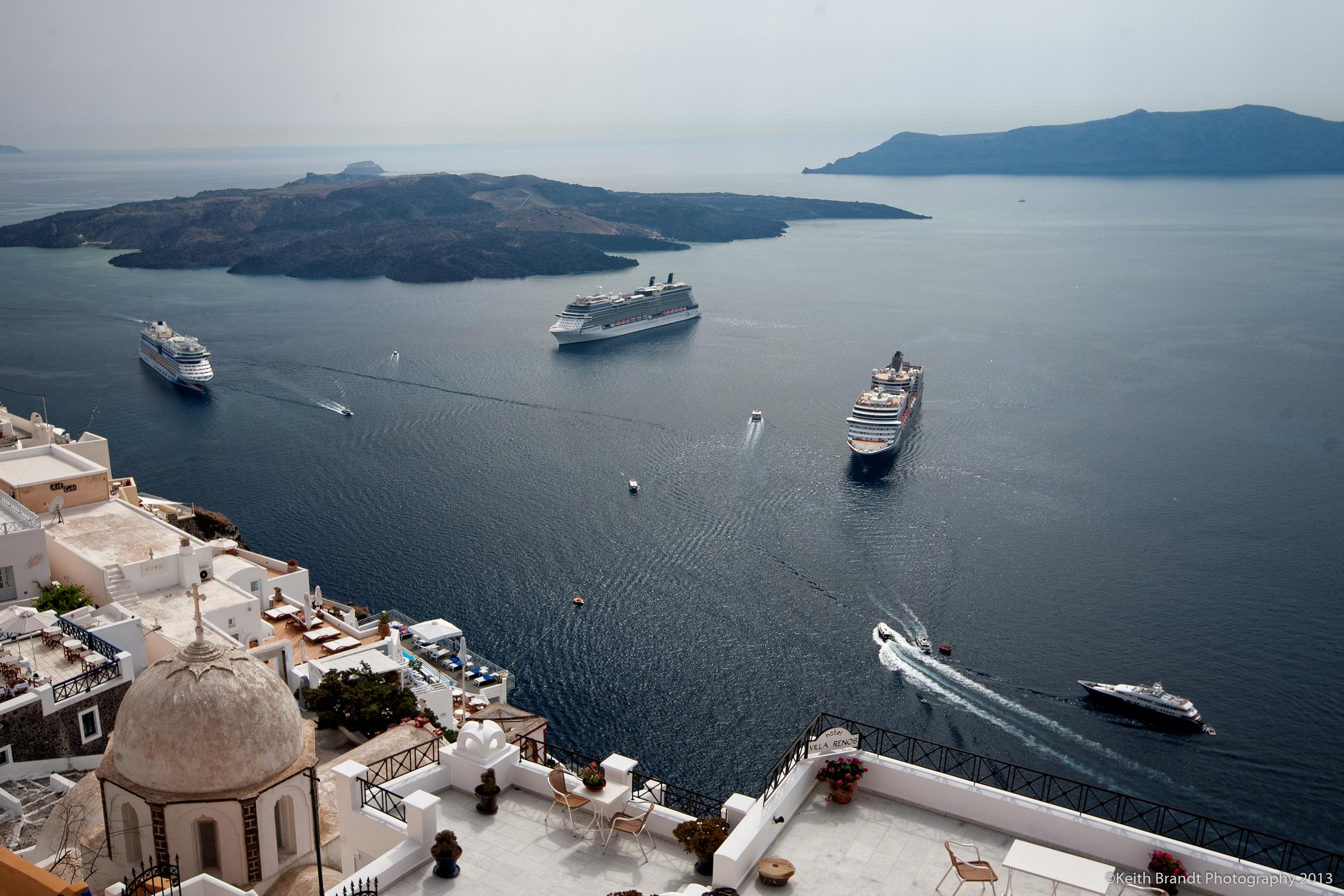 Cruise Ships, Santorini, Greece.jpg