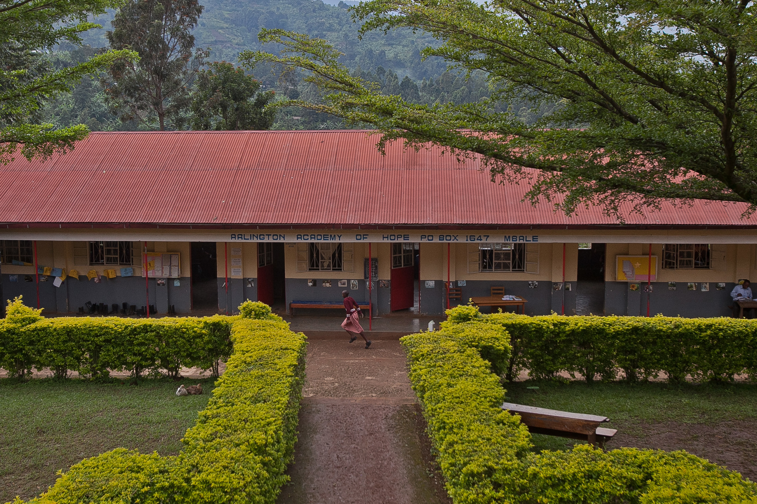 Arlington Academy of Hope in Bududa district, Uganda. (Photo by Kate Lord)