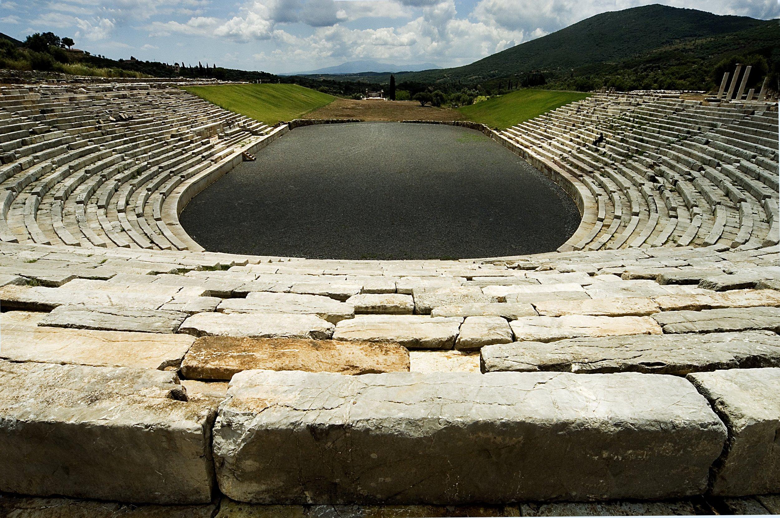 Ancient Messini Stadium.JPG