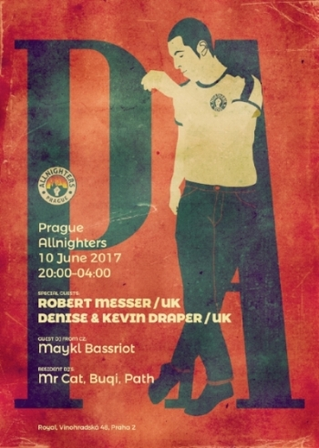 Prague Allnighters event červen 2017