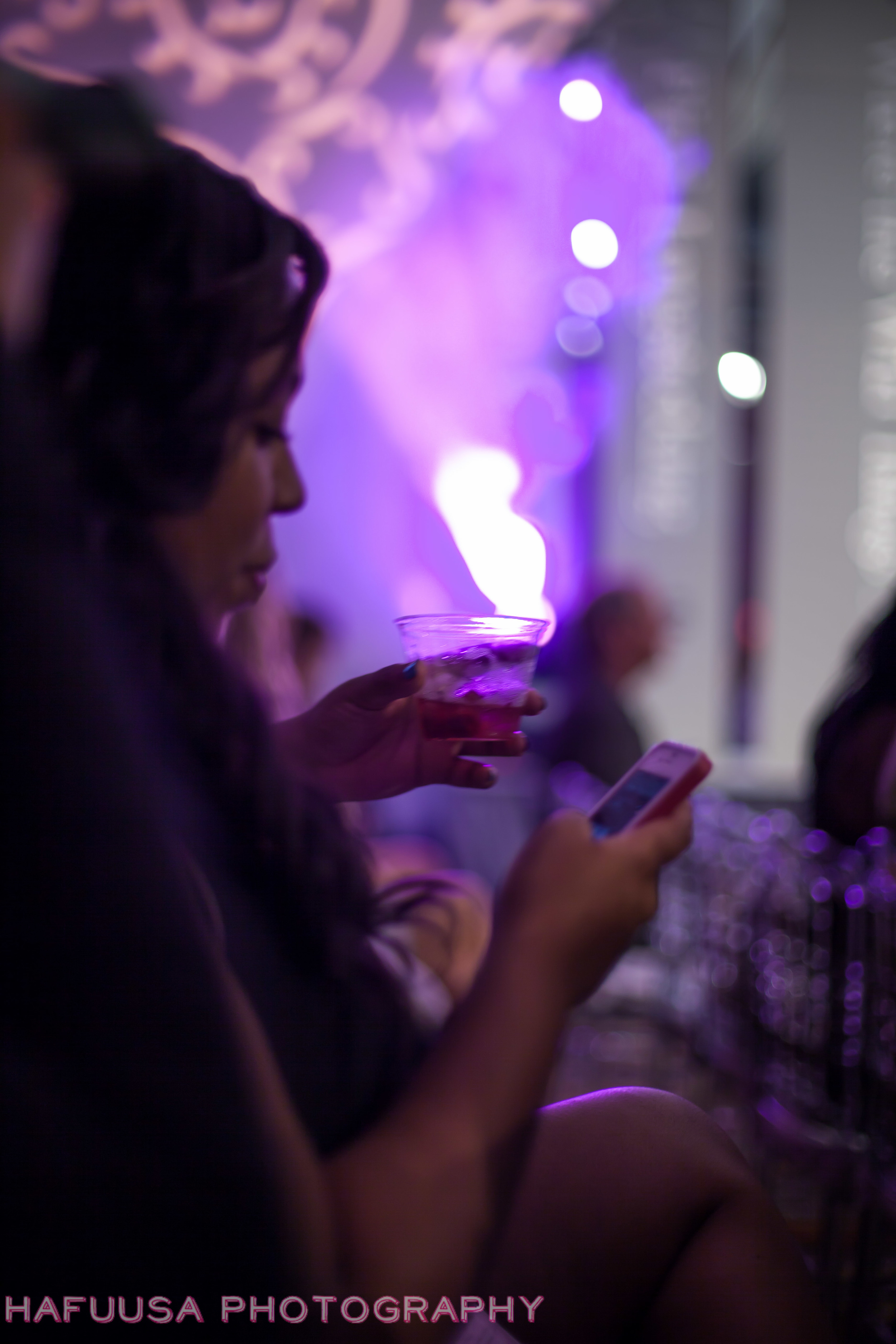 Social media in the front row