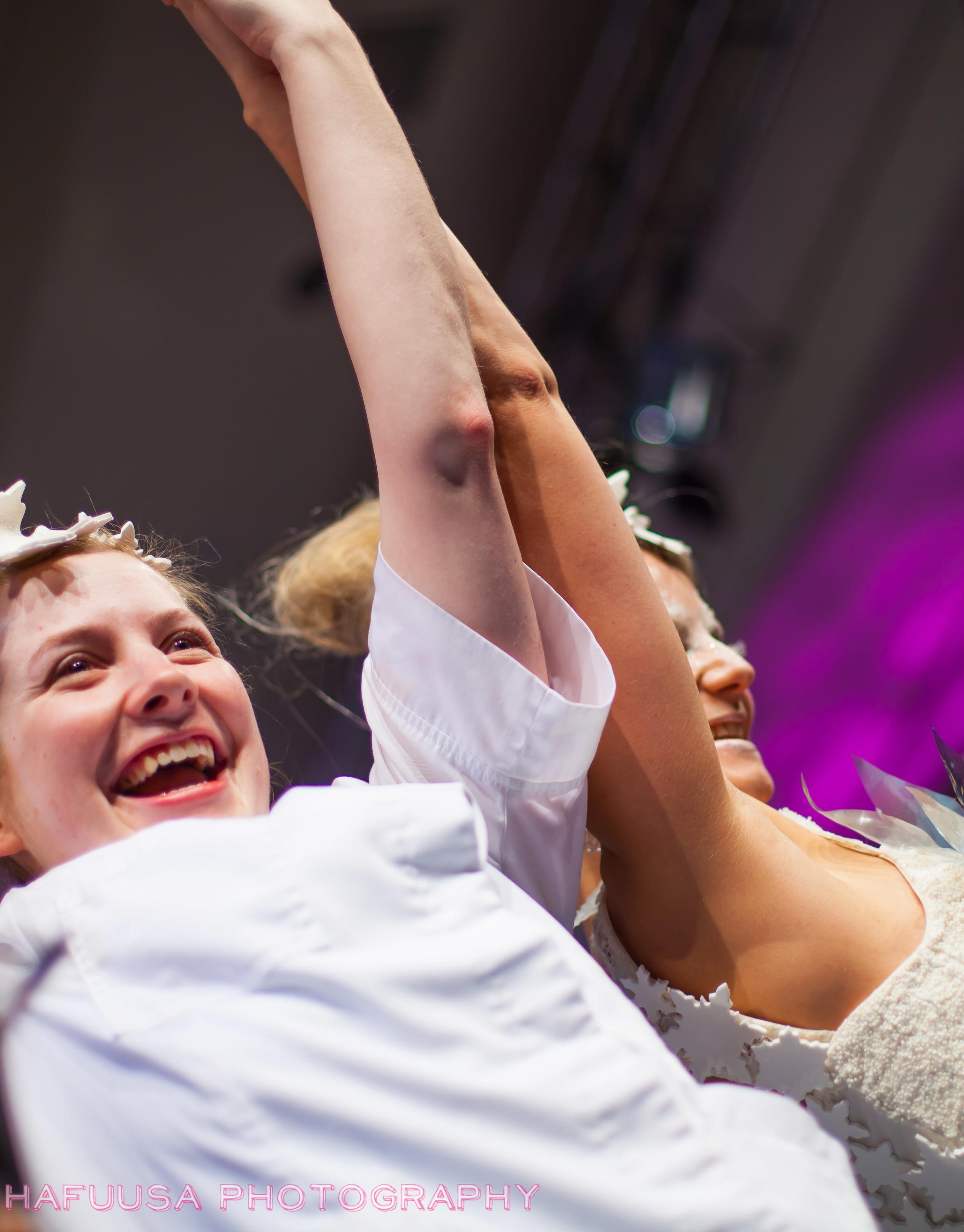 Winner Caitlin Dysart & Snow Queen