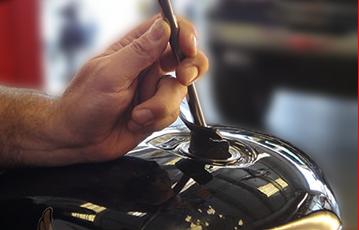 Motorcycle Dent Repair 5