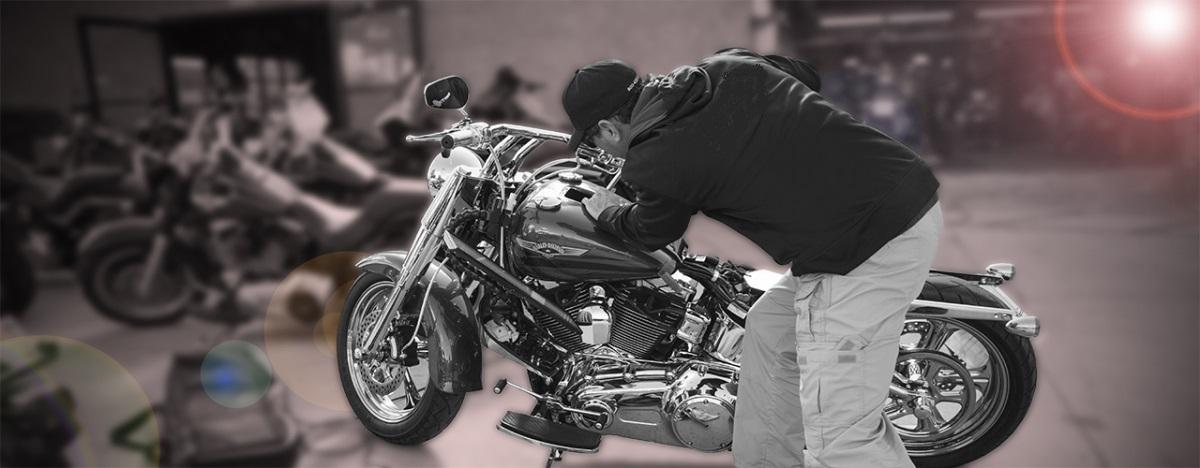 Motorcycle Dent Repair 9