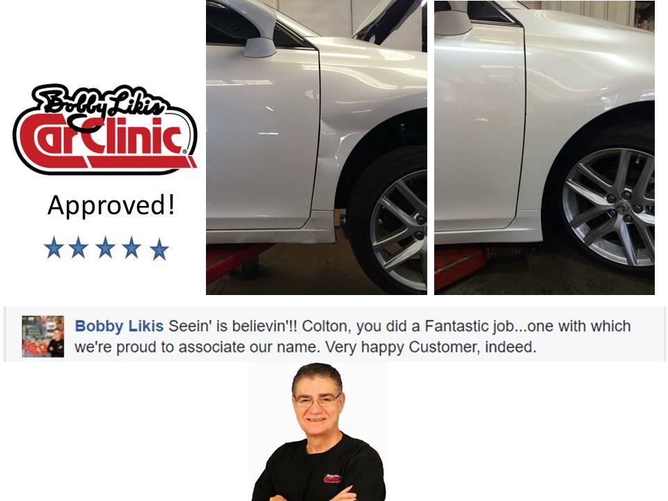 Bobby Likis Dent Repair