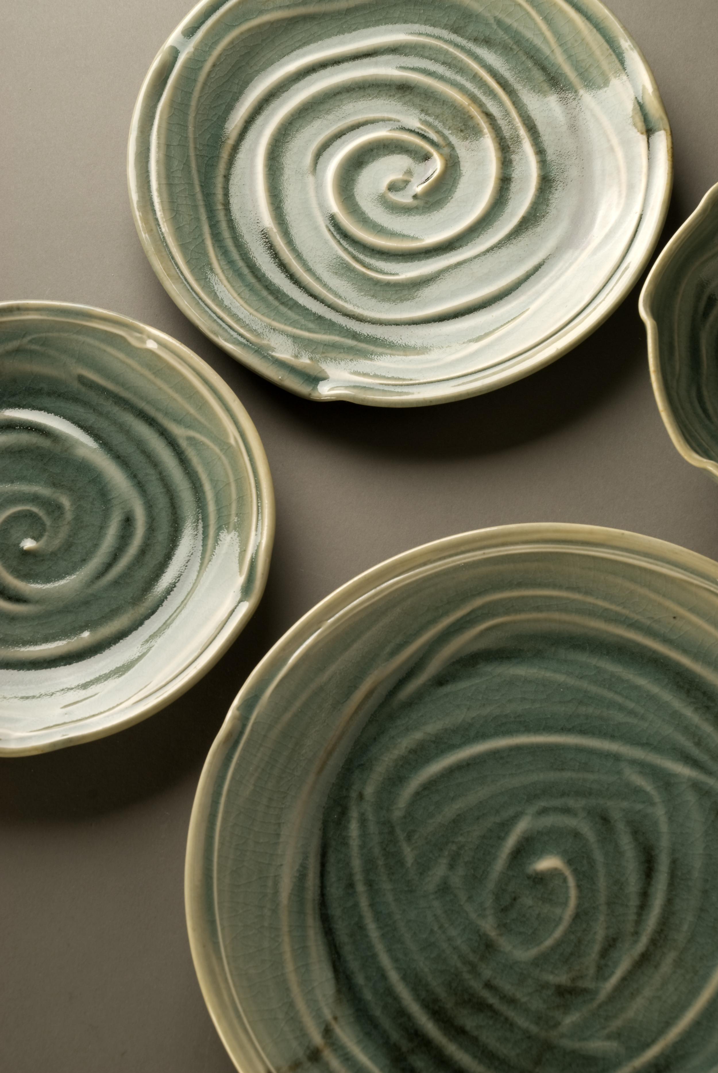 Celadon Plates Close up.jpg