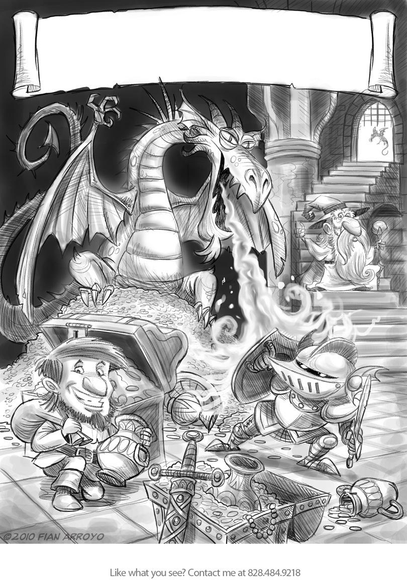 Fandooble game sketch