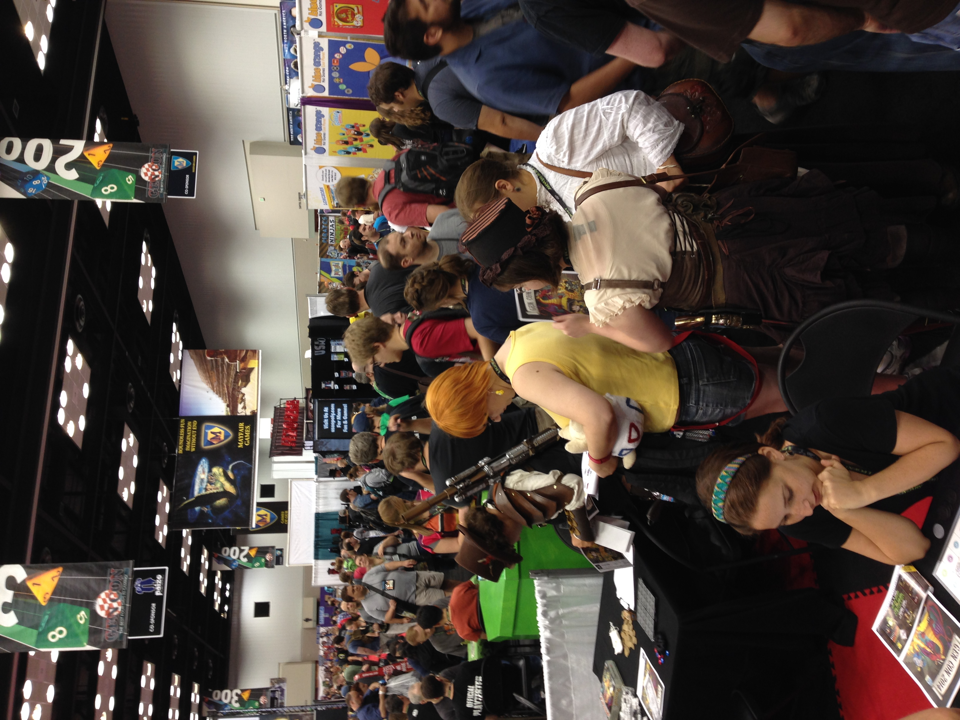 Small corner of the universe called Gen Con.