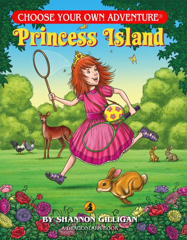 Princess Island Book Cover Illustration