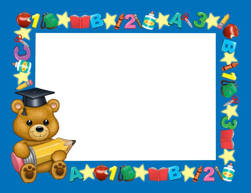 Preschool Certificate Illustration