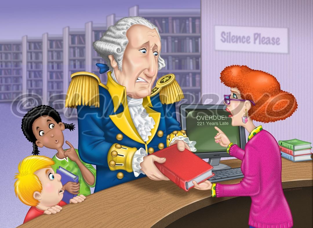 George Washington's Overdue Book