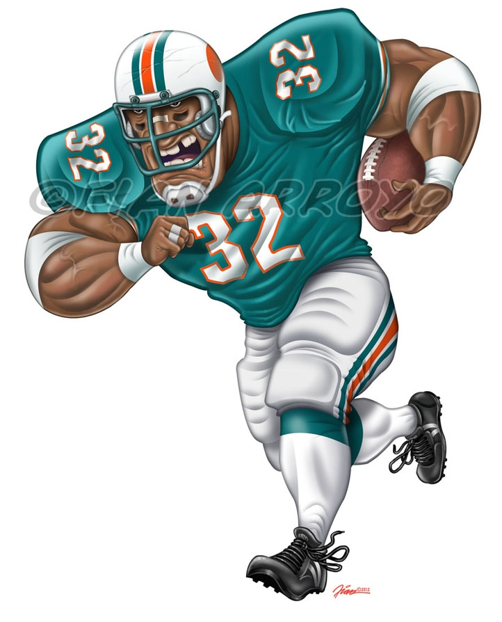Miami Dolphins Illustration