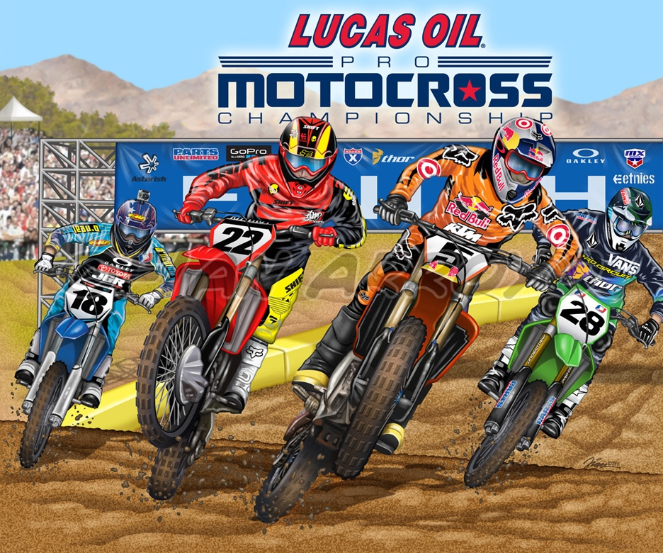 Motocross Board Game