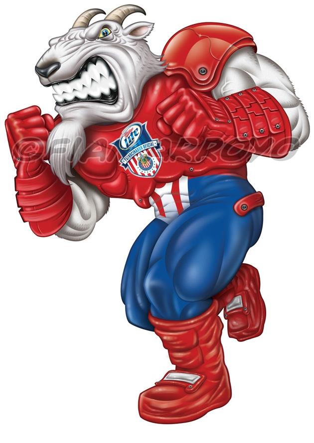 Miller Lite Soccer Mascot