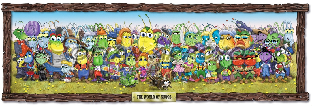Buggville Characters