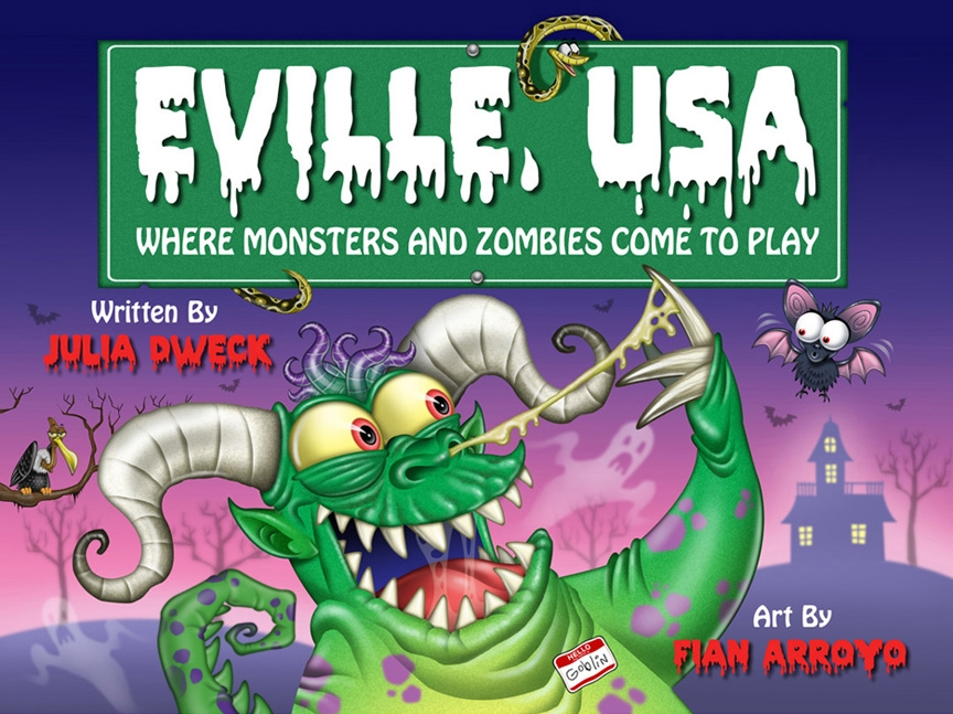 Eville Ebook Cover