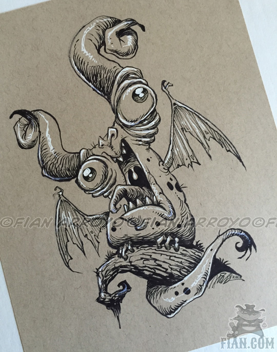 Archie Monster Doodle