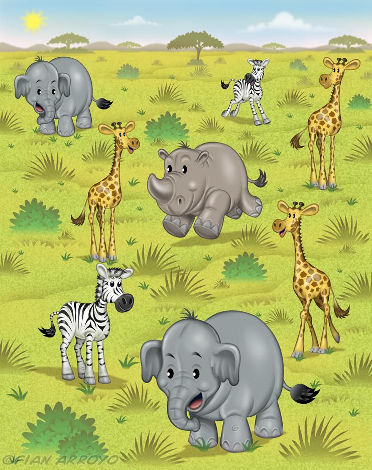Baby Animal Safari
