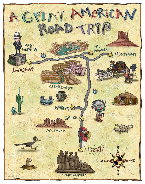 Fun Tourist Map
