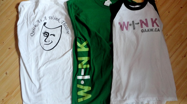 Three t-shirts, three great summers. I can't wait to see what this fourth year brings!