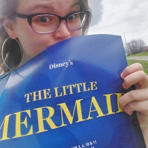 Have you seen any of our  Little Mermaid  posters when out and about?
