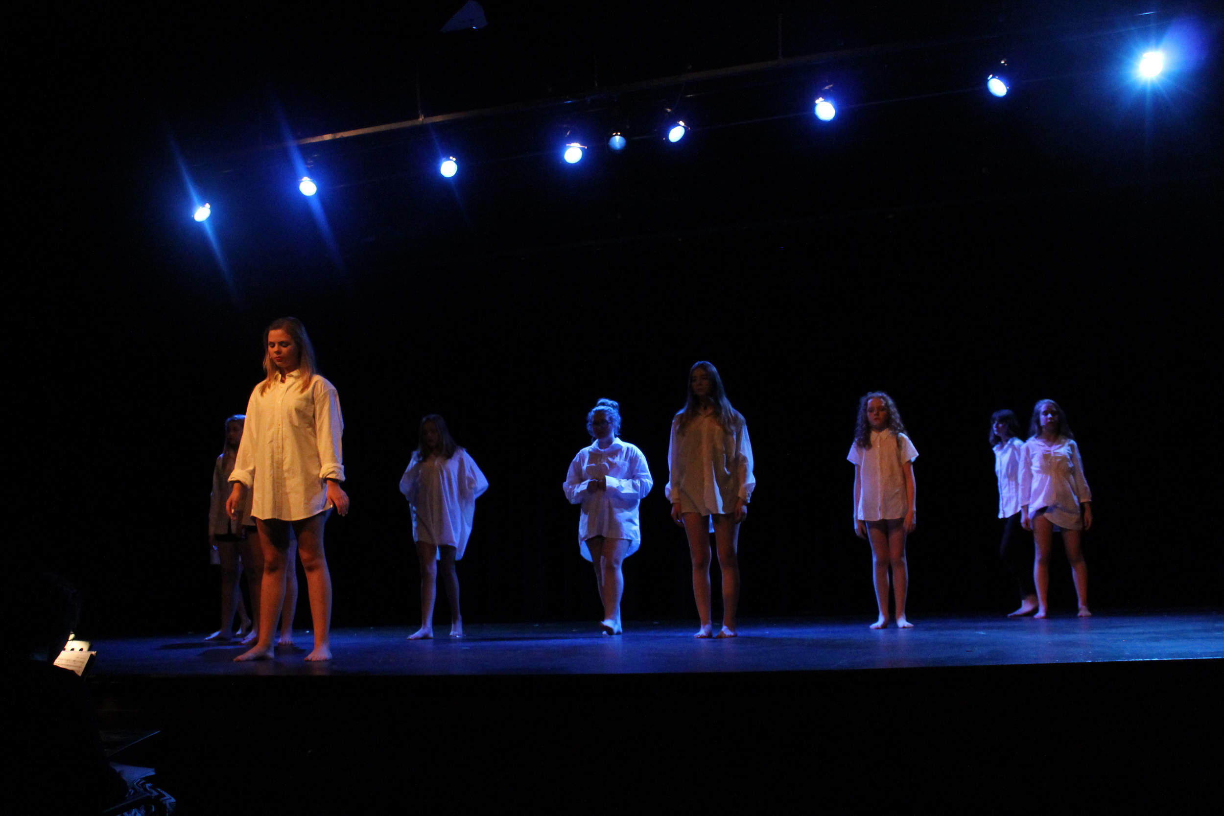 """Our very talented campers performing """"Mama Who Bore Me"""" from  Spring Awakening"""