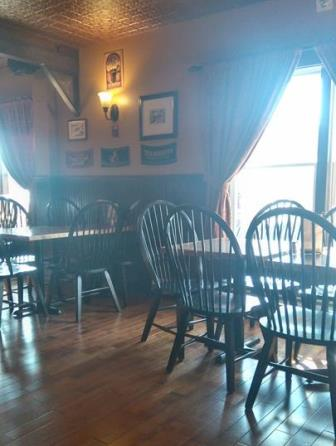 """""""Empty Chairs and Empty Tables"""" was still on my brain when I arrived early to get ready for Pub Trivia on Tuesday. We had to bring in extra tables once people began arriving, though!"""
