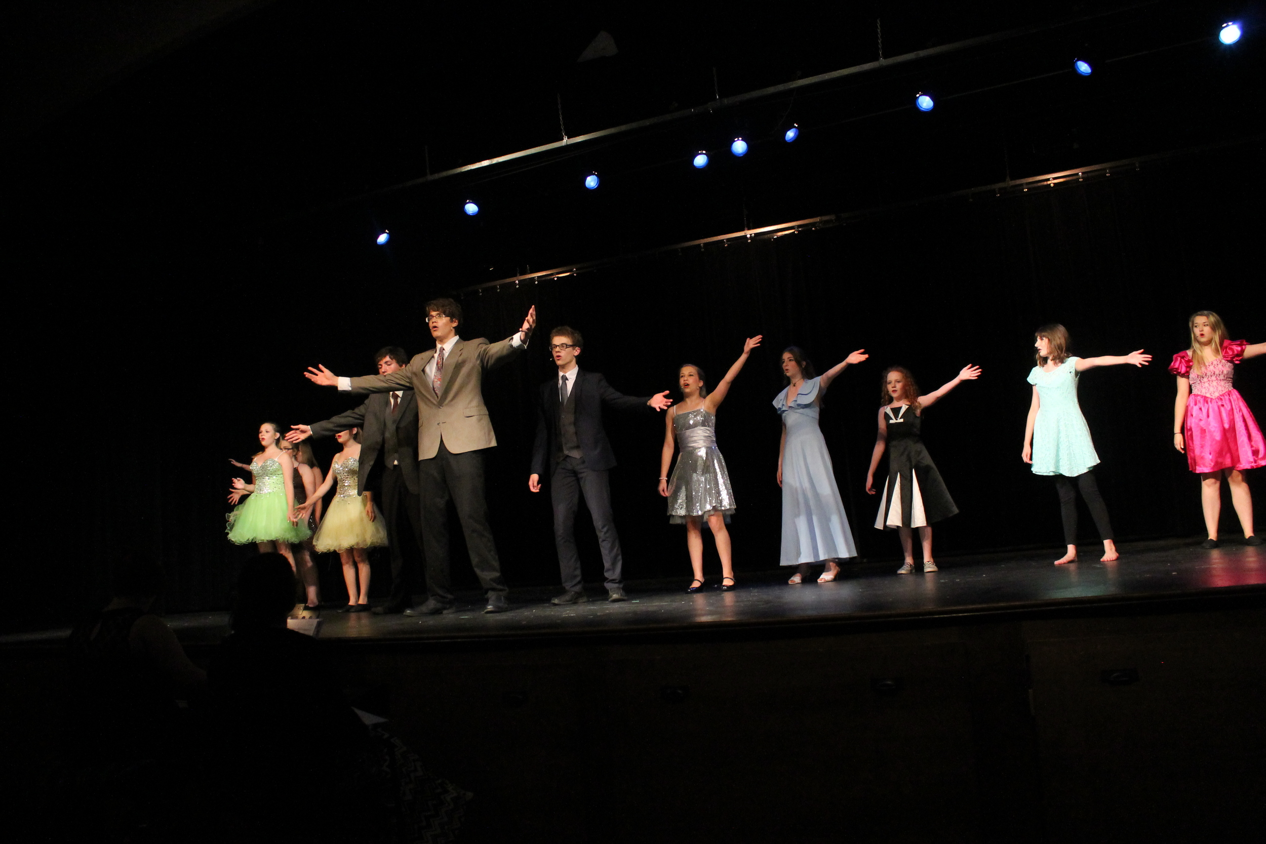 Musical Theatre Camp Performance, 2016 Photo Credit: Keshia Laffin