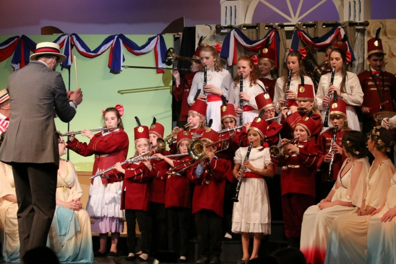 A moment from QAAW's performance of  The Music Man  captured by Carole Morris-Underhill!