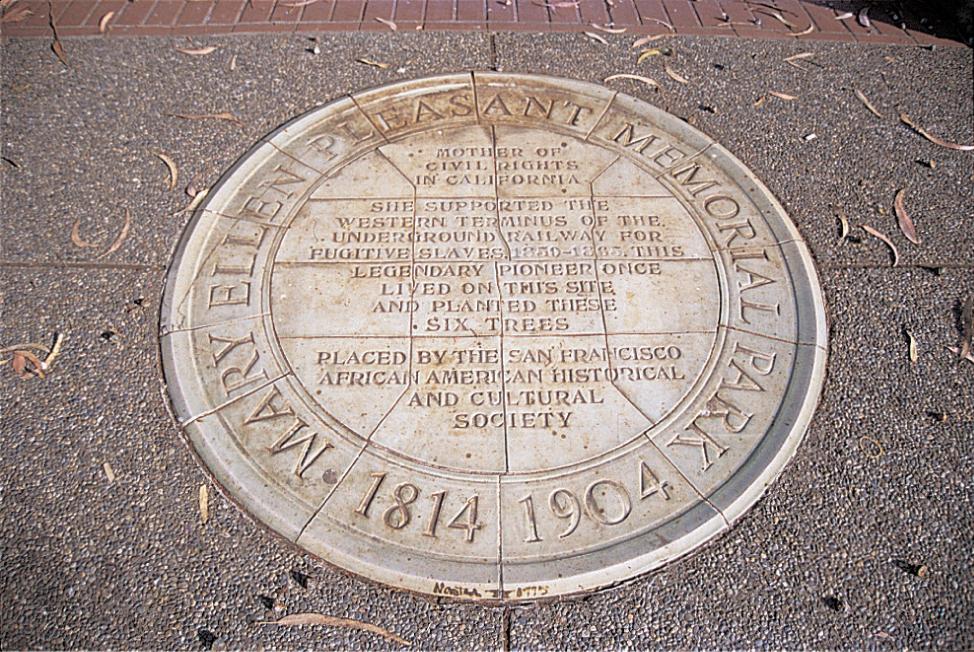 Mary Ellen Pleasant historical marker