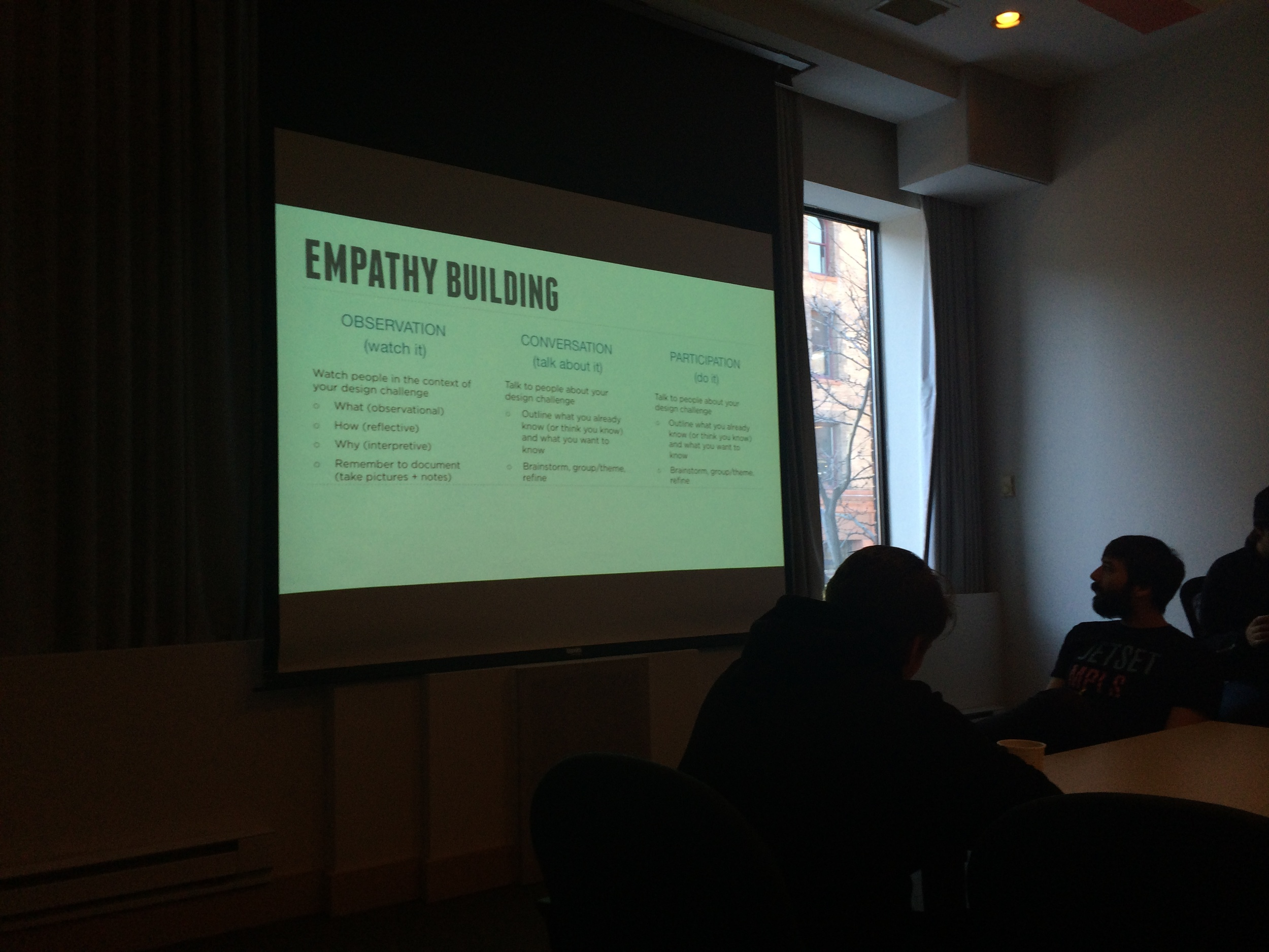 Learning how to apply empathy to service design