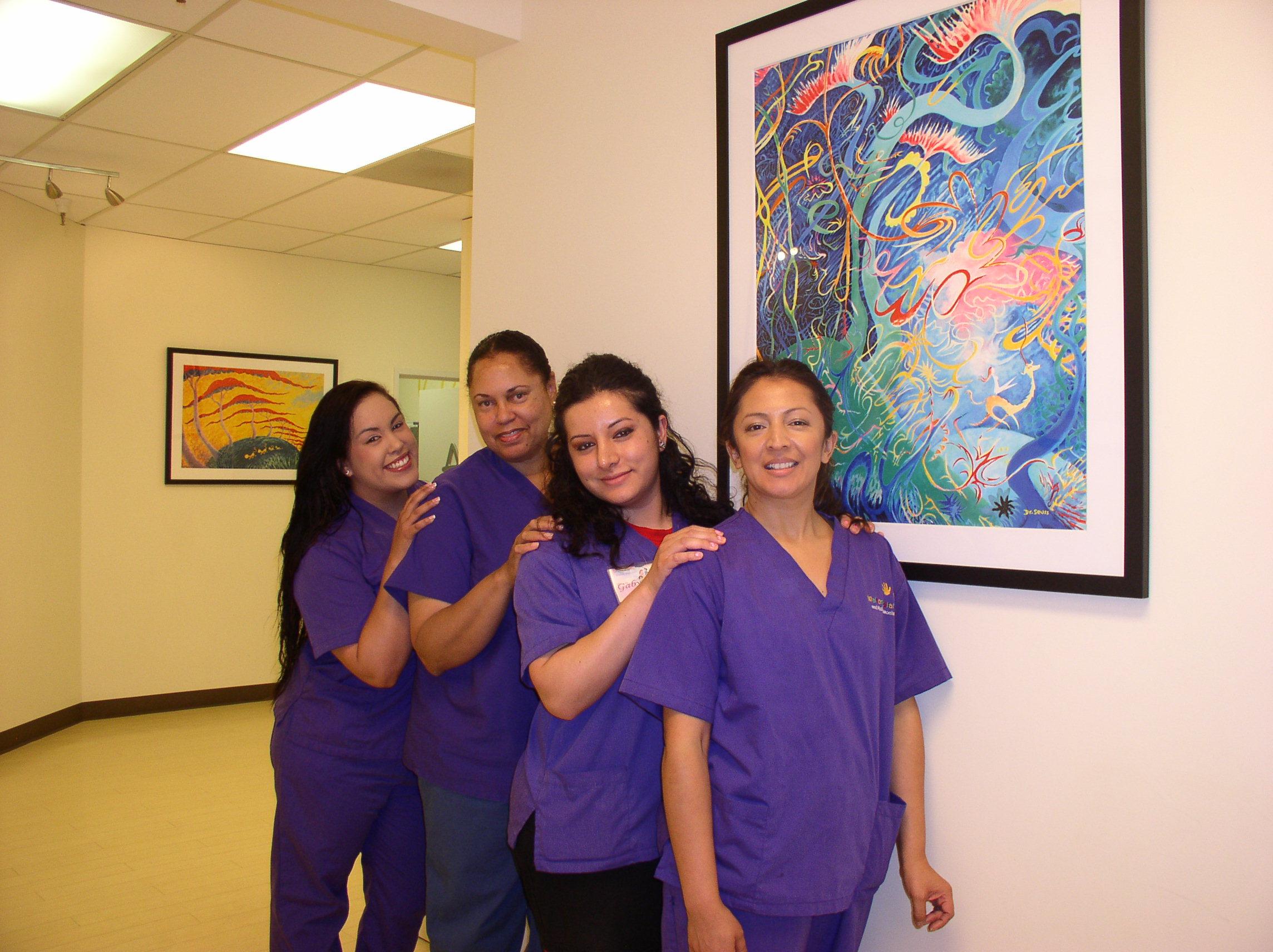 Walton Pediatrics Dr. Suess Gallery!
