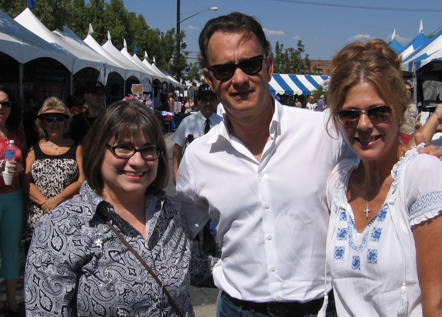 Alexis with Tom & Rita