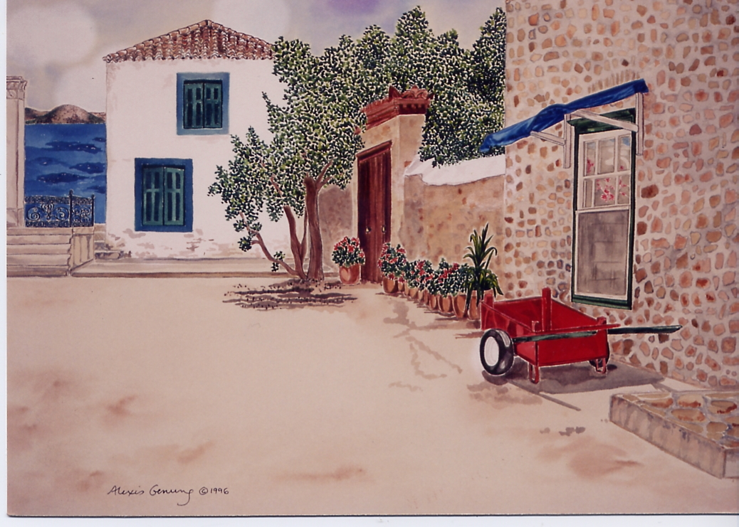 Red Wagon, Blue Sea