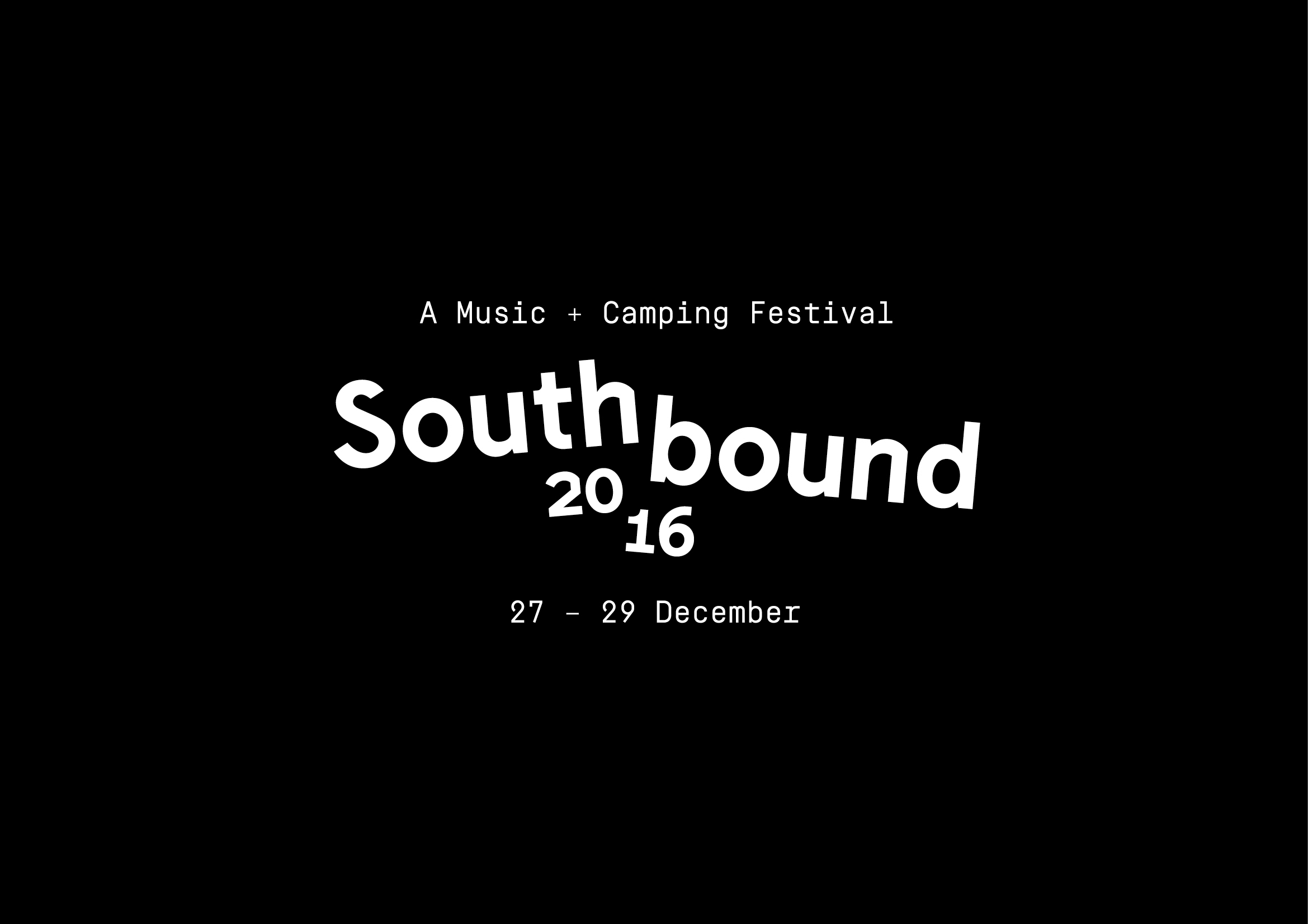 Completed at Sunset Events . 2016 Art Direction / Branding / Illustration / Digital Marketing   Southbound is WA's sole music and camping festival, hosting a large range of talent from overseas headliners to upcoming Australian acts. Held in Busselton WA, the festivals branding draws on the beautiful landscape of the states south west. Incorporating colour and fun illustration to represent not only the Southbound experience but the journey to get there.