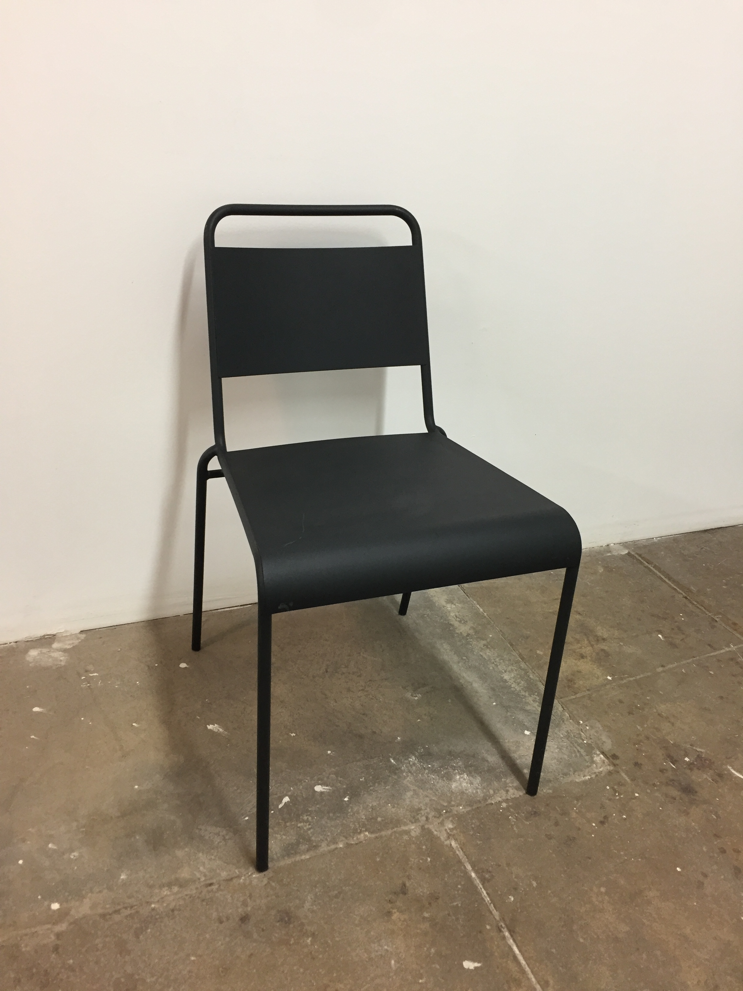 Black Metal Chairs QTY:16 Price: $6 ea