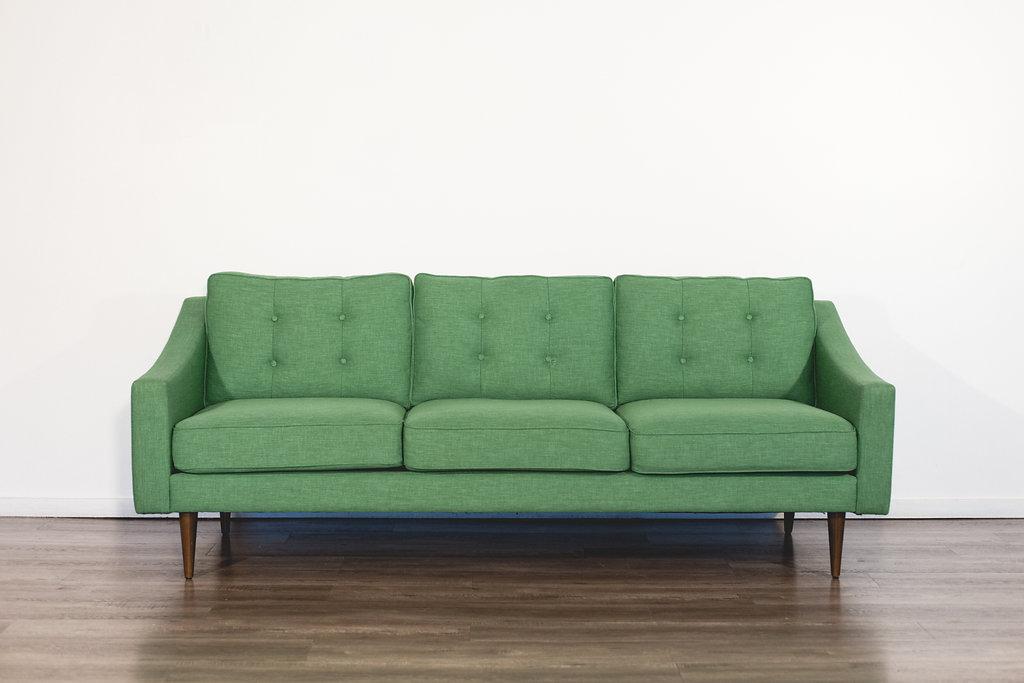 Kelly Green Sofa Quantity: 1 Price: $150