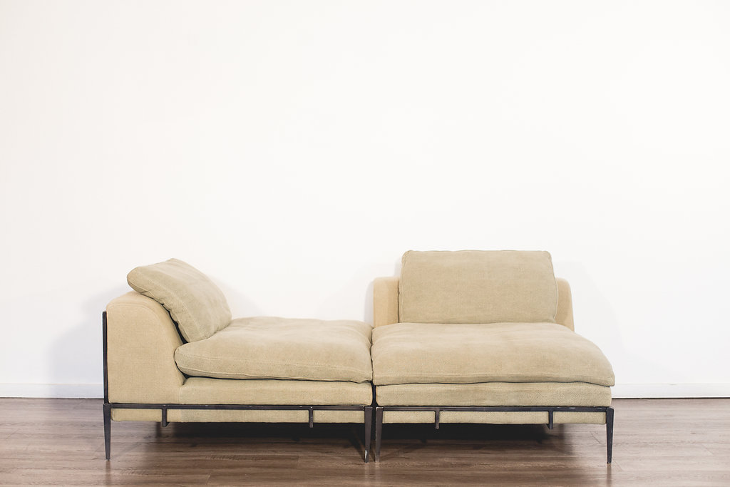 Sage Oversized HD Buttercup Canvas Chairs Quantity: 2 Price: $75 EA