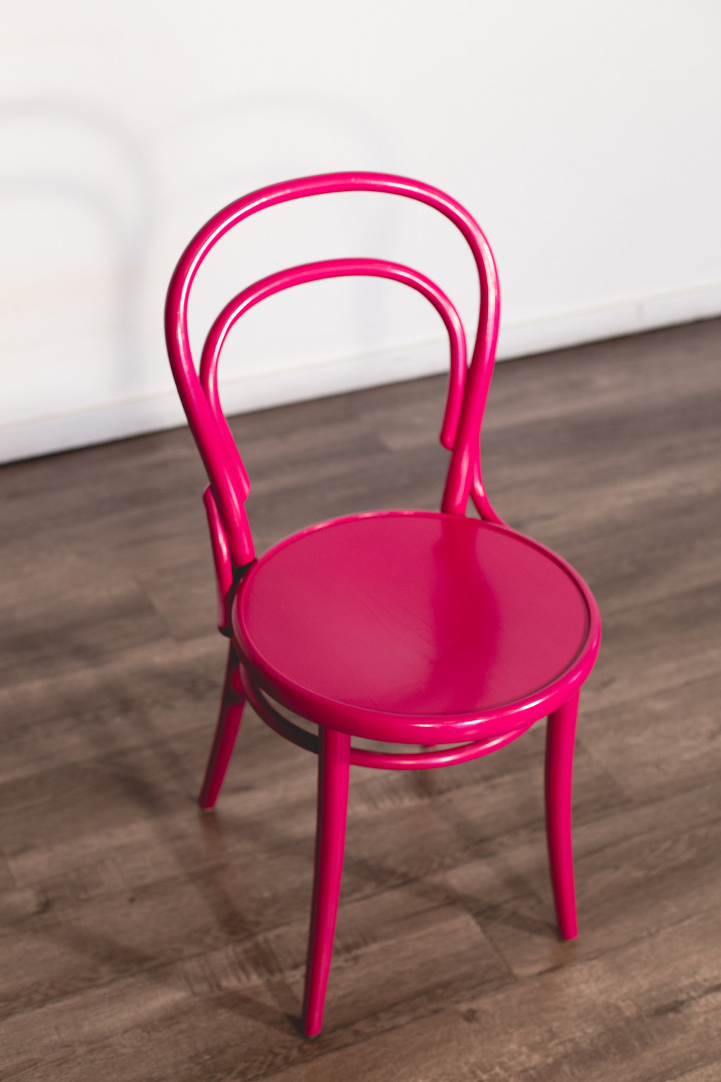 Pink Thonet Cafe Chair Quantity: 2 Price: $30 EA