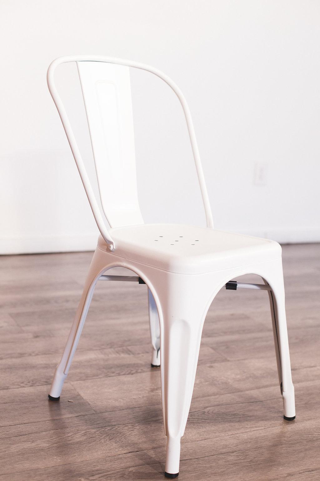 White Tolix Style Chair Quantity: 28 Price: $6 EA