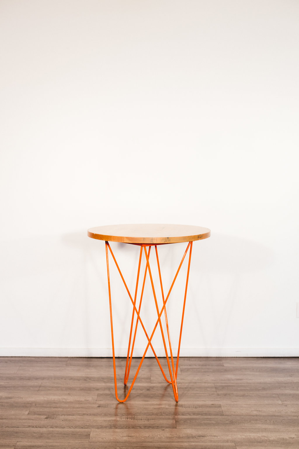 Orange Cocktail Table Quantity: 2 Price: $40 Each