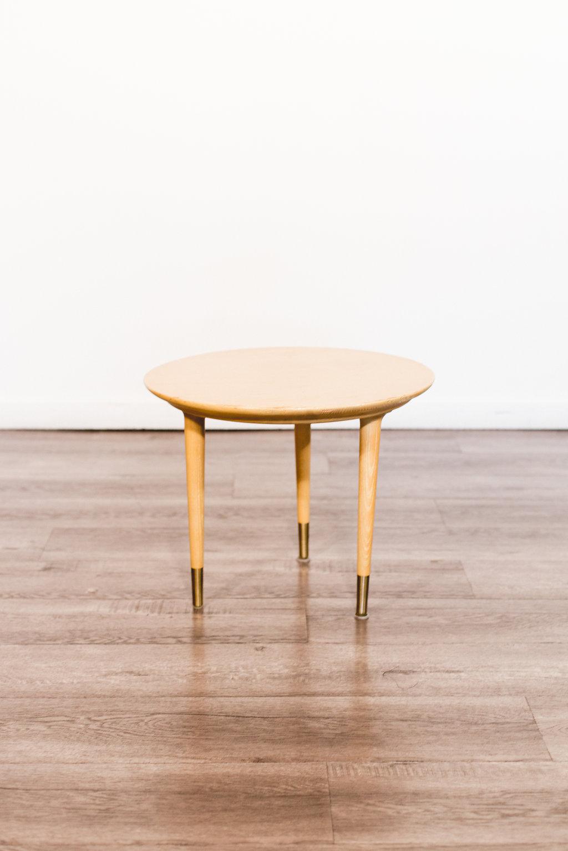 Vintage Wood Side Table Quantity: 2 Price: $75 EA