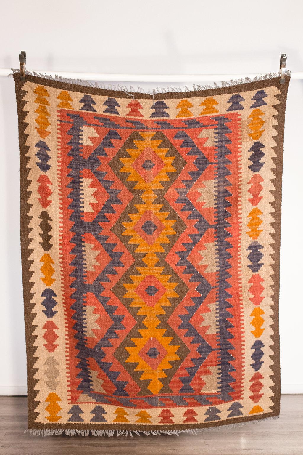 Aztec Rug Small 6.5'x 5' Quantity: 1 Price: $125