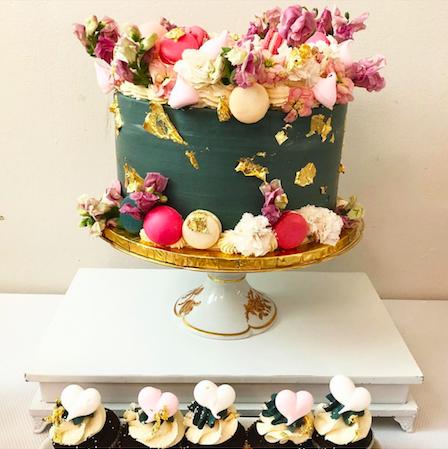 Cake and Photo by @thepurplecupcake