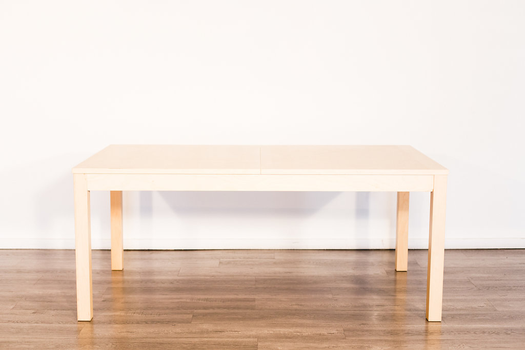 Expandable Wood Table 6'-10' Quantity: 5 Price: $60